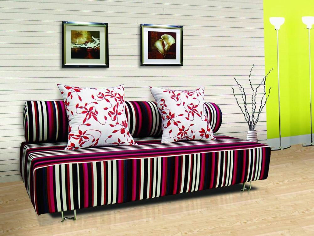 maroon stripe patterned sofa bed sheets full size with long tube pillow added as the backrest sofa bed sheets – representative furniture for modern retreat