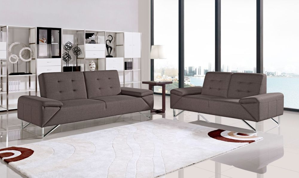 twin leather sofa beds with white rug and side table with table lamp sofa bed sheets – representative furniture for modern retreat