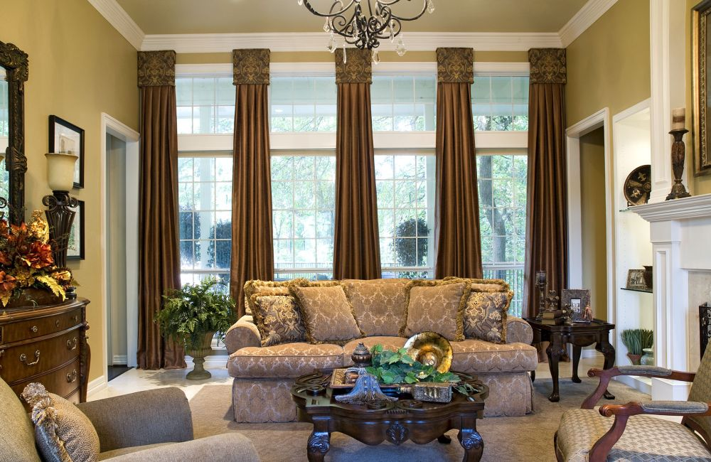 window treatment ideas for living room bay window wonderful living room design with nice window treatment
