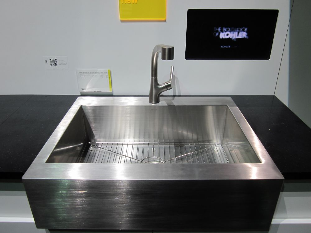 attractive single stainless steel sink design with simple square shape stainless steel bathroom sinks – stunning bathroom design