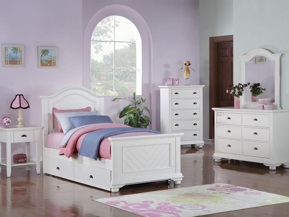 classic teenage bedroom with fascinating white bedroom sets and two under bed drawers in the bottom mesmerizing youth bedroom sets images