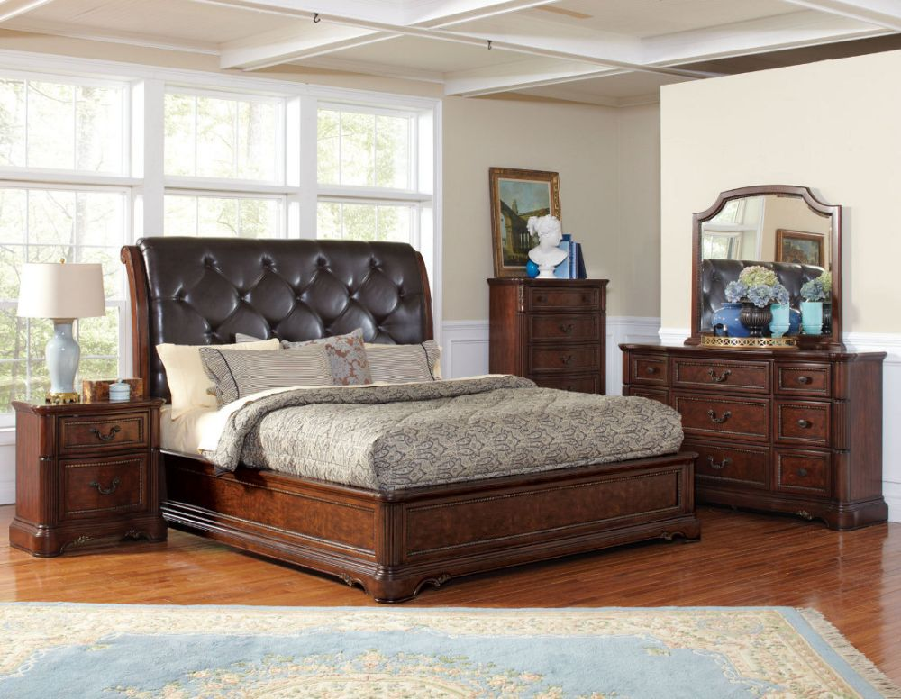 comfortable bedroom comes with mustard wall treatment and decorative windows using frosted glasses excellent ideas for california king bedroom sets