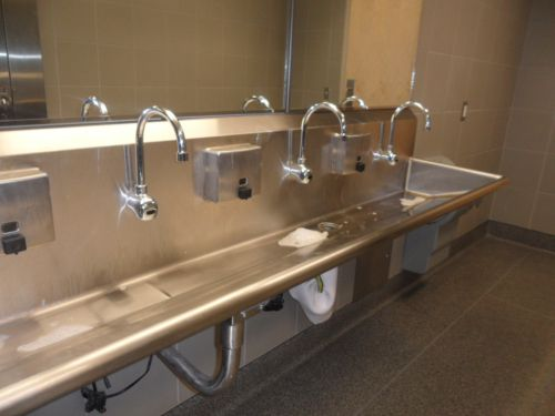 narrow and long style stainless steel bathroom sink stainless steel bathroom sinks – stunning bathroom design