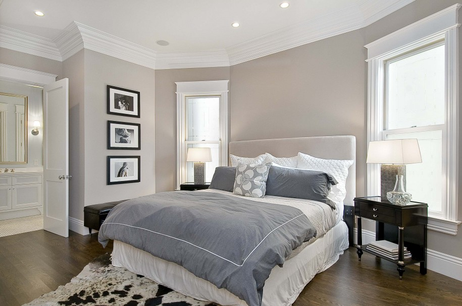 brilliant wall color bedroom idea with light gray paint impressive wall colors for bedrooms