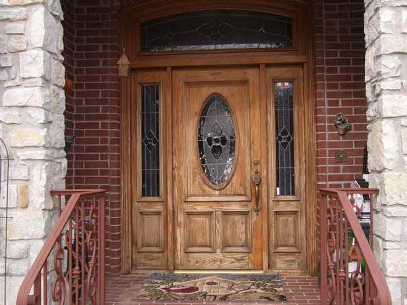 classic unfinished wood door with sidelights amazing fiberglass exterior doors for the beauty of the facade house