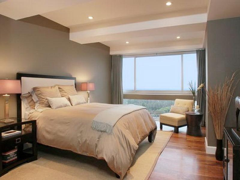 country bedroom style with white ceiling design and vibrant lighting plus decorative moldings impressive wall colors for bedrooms