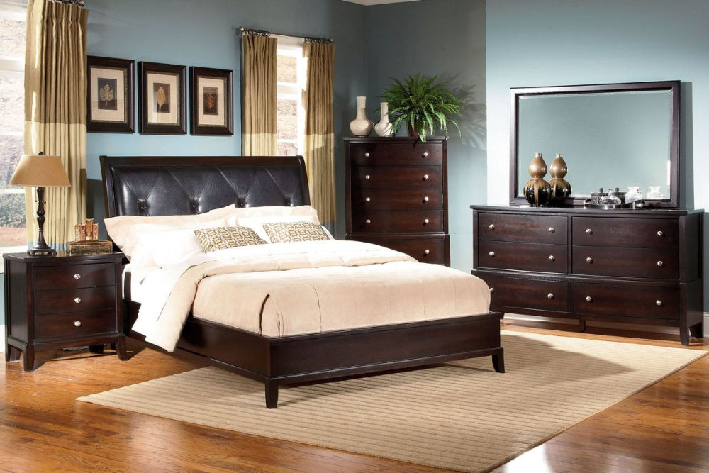 unique ideas for master bedroom furniture sets with dark brown furnishings splendid and unique bedroom sets ideas