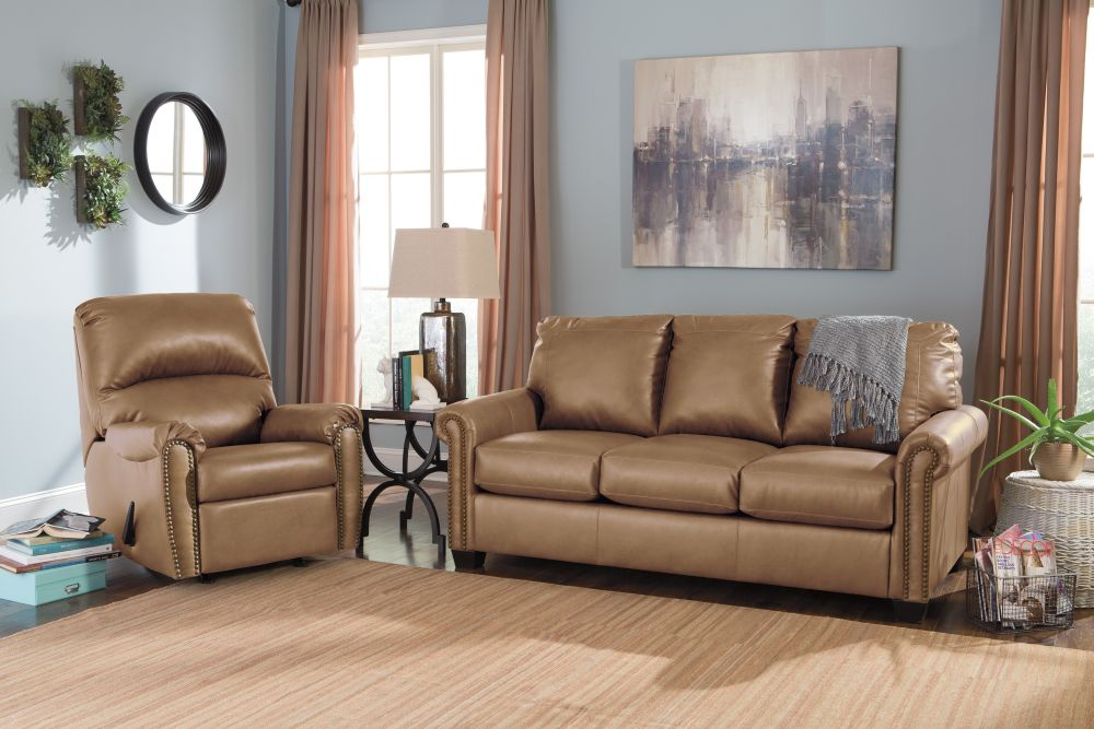lottie durablend® - almond full sofa sleeper by signature design best sofas from wayside furniture outlet living room