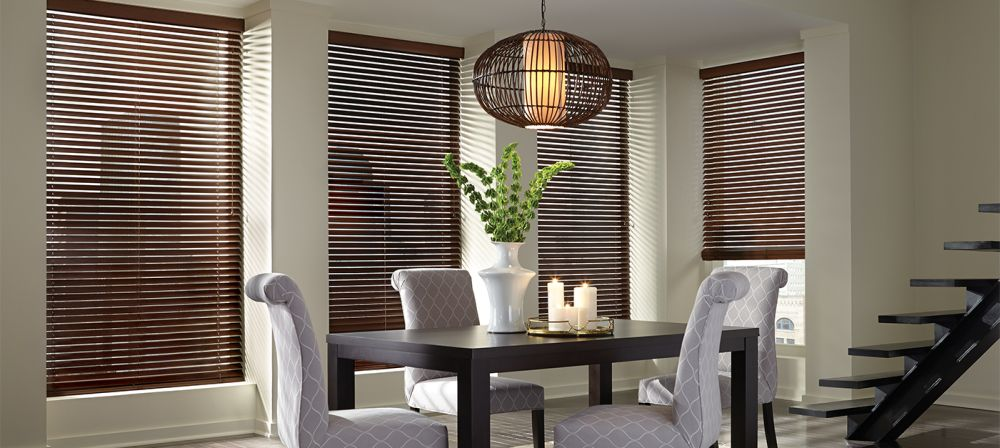 horizontal blinds parkland scenic room basswood leather-saddle wooden venetian blinds review