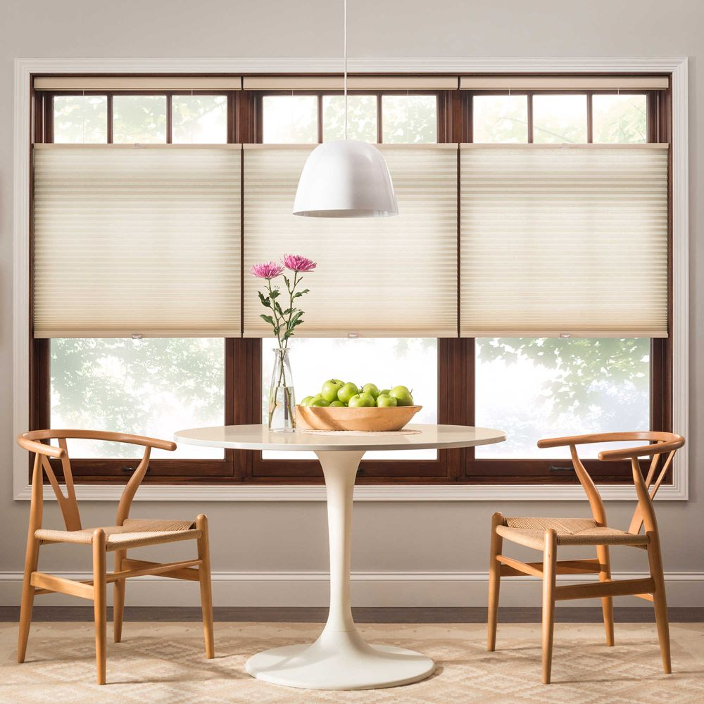light filtering bali cellular shades with pendant lamp for dining room bali cellular shades product details