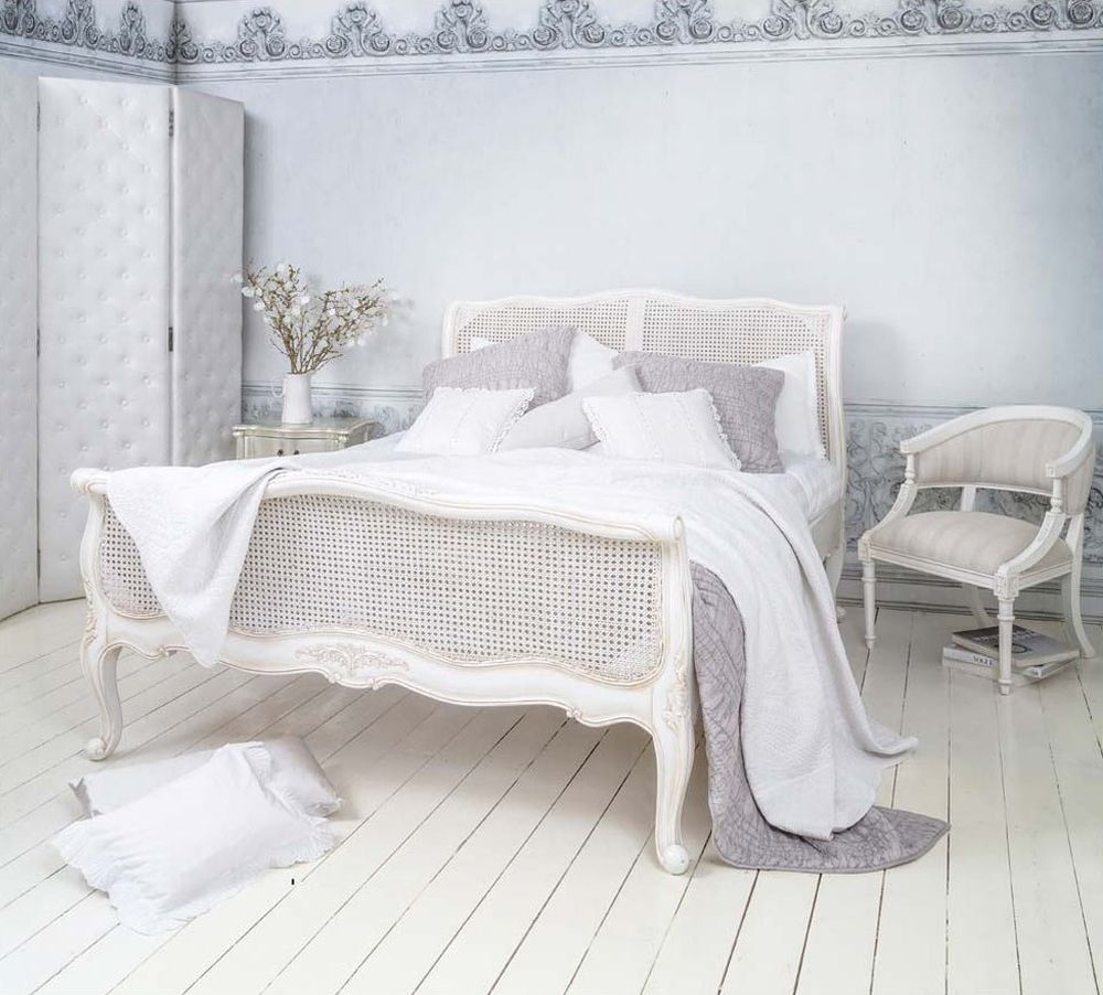 white french furniture provencal white rattan bed is white wicker bedroom furniture a good choice?