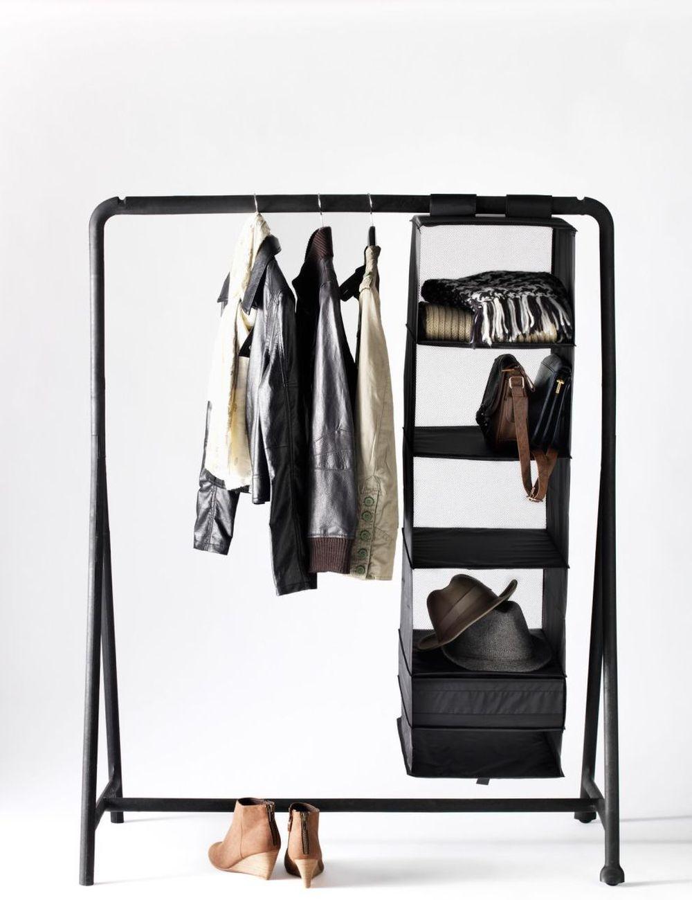free standing ikea turbo closet rack free standing closet wardrobe for your bedroom