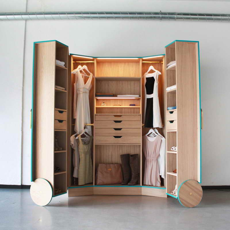 creative folding closet unit with double cabinet for home saving space ideas benefits of freestanding closet system