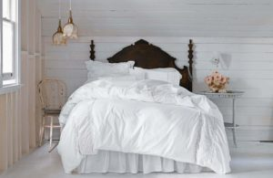 Simply Shabby Chic White Pieced Mesh Duvet Super Soft and Plush Simply Shabby Chic Blanket