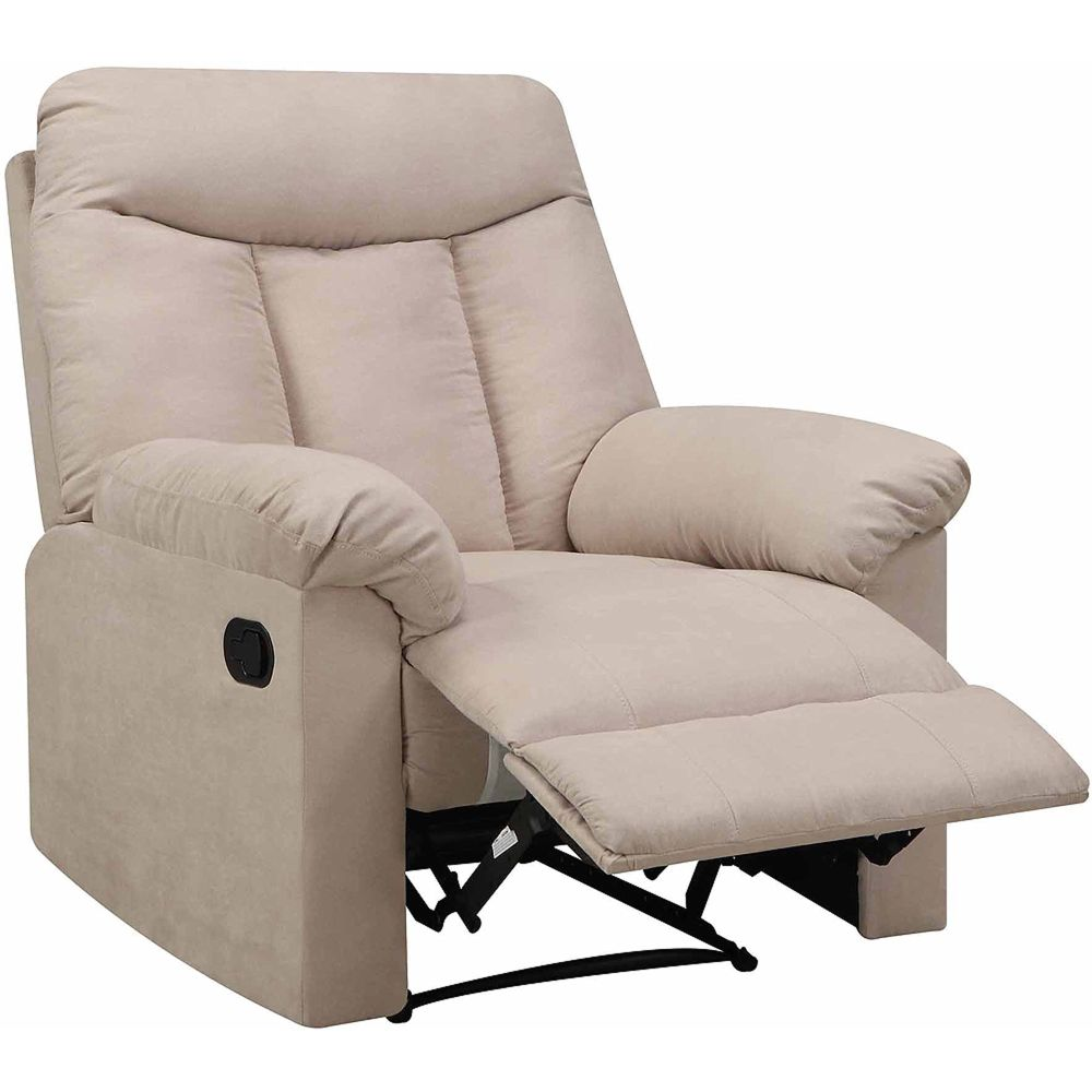 prolounger-wall-hugger-microfiber-biscuit-back-recliner-chair-multiple-colors comfortable walmart recliner chairs