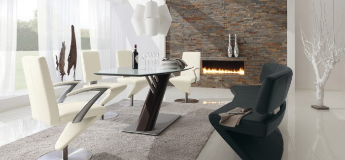 Contemporary Glass Dining Room Furniture