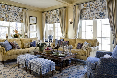 Country Living Room Furniture Ideas