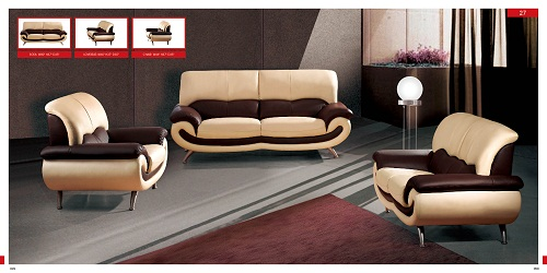 Leather Living Room Furniture Ideas