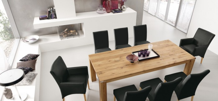 Modern Wood Dining Room Tables