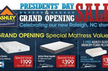 Ashley Furniture Presidents Day Sale Commercial