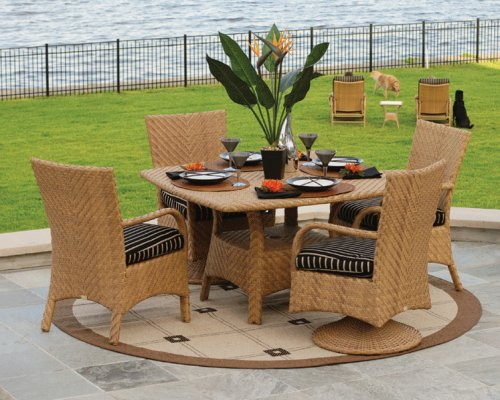 Fry's Marketplace Patio Furniture Ebel Natural Wicker