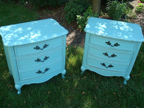 Repurposed Painted Furniture