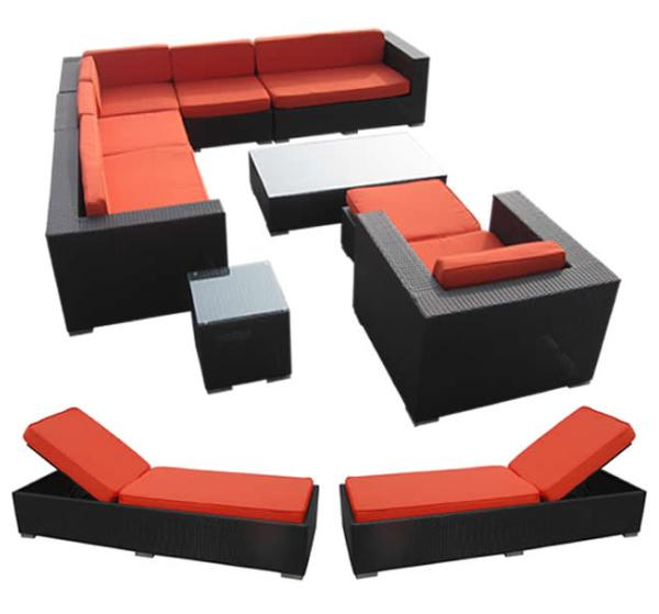 fry's marketplace patio furniture set