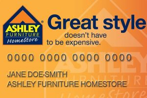 Ashley Furniture Financing Option