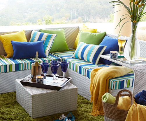 Pier One Cushions for Outdoors