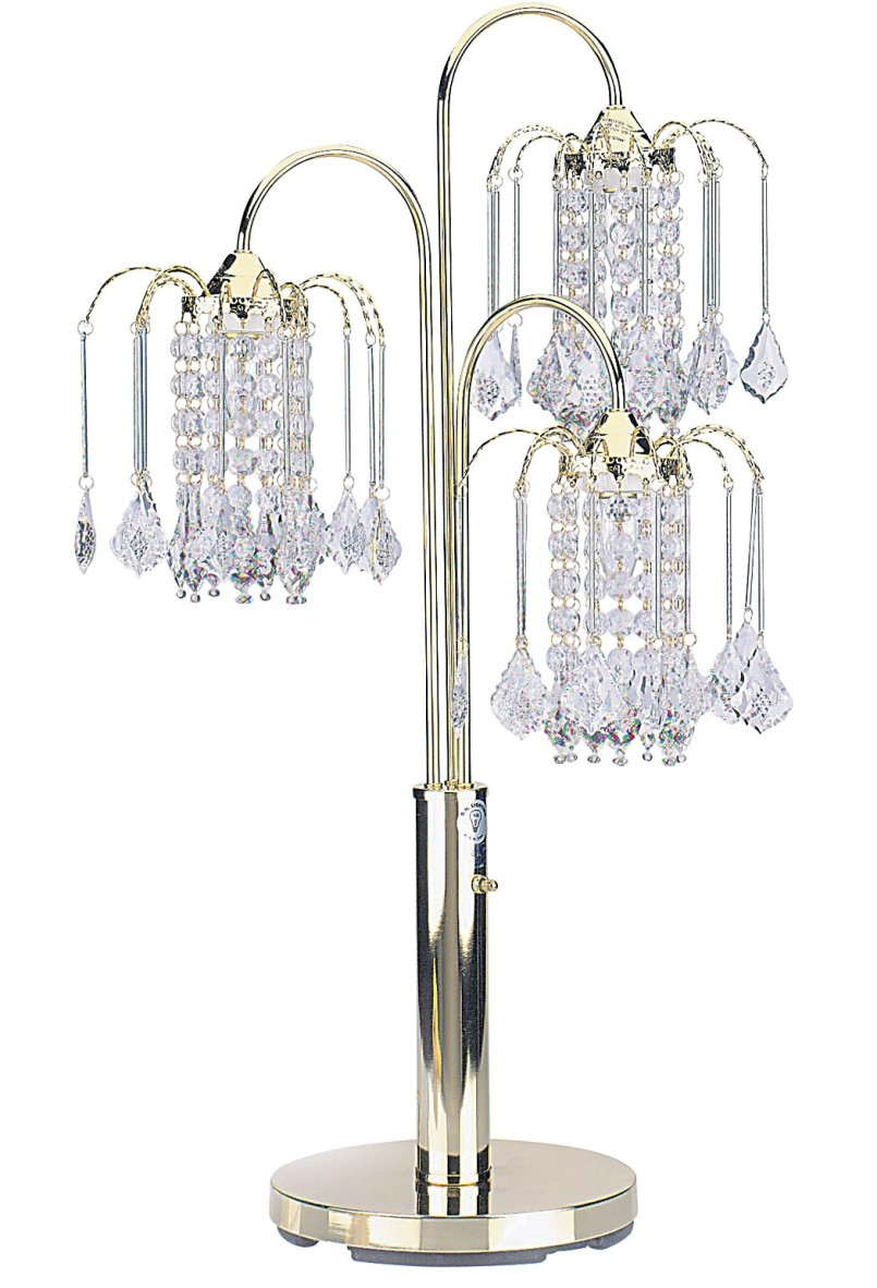 Chandelier Table Lamp Furniture with Crystal