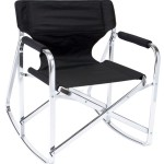 Outdoor Folding Rocking Chair Aluminum