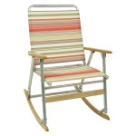 Outdoor Folding Rocking Chair Casual