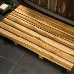 Teak Bathroom Furniture Bath Mat