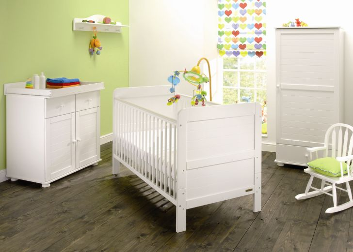 White Nursery Furniture Sets Dilham White Set
