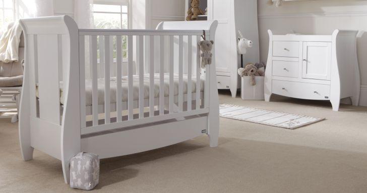 White Nursery Furniture Sets Katie 2 Piece Room Set