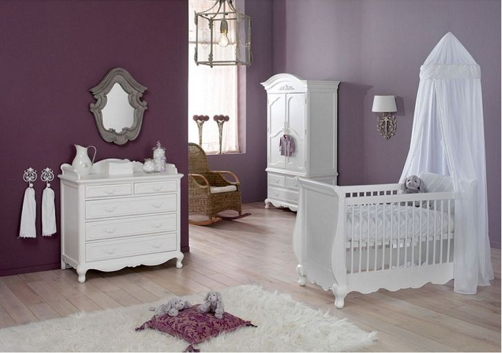 White Nursery Furniture Sets Kidsmill Claudia