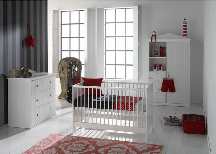 white baby nursery furniture sets