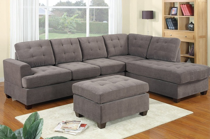 Sectional sofas for small spaces homes furniture ideas - The reason behind the growing popularity of the contemporary sofa ...