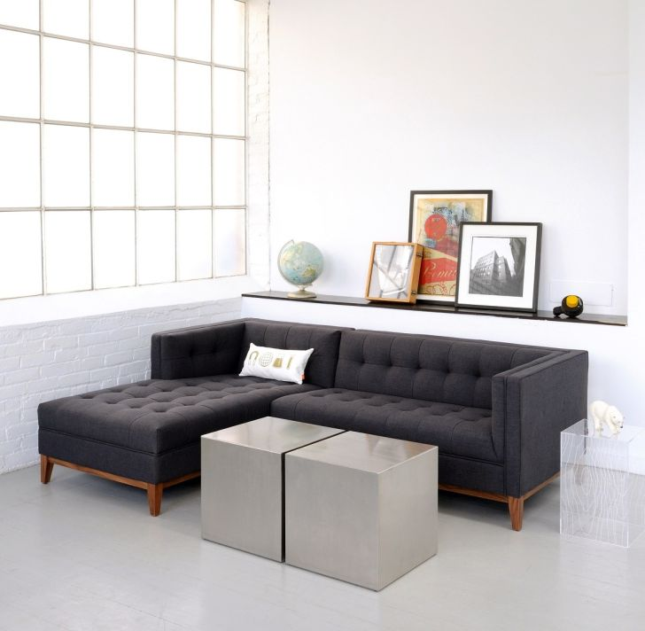 Apartment Size Sofa Modern and Contemporary Sectional