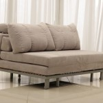 Comfy Chairs for Bedroom Furniture with Fold up Suede Sofa