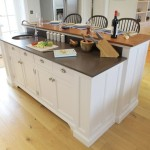 Free Standing Kitchen Island with Sink