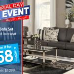 Memorial Day Furniture Sales in Arizona 2014