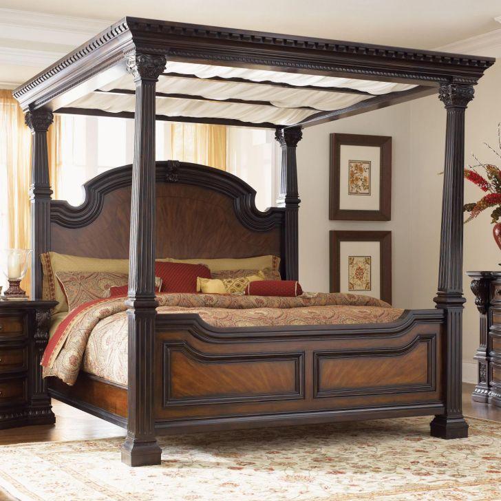North Shore Bedroom Set California King Canopy