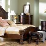 North Shore Bedroom Set King Sleigh