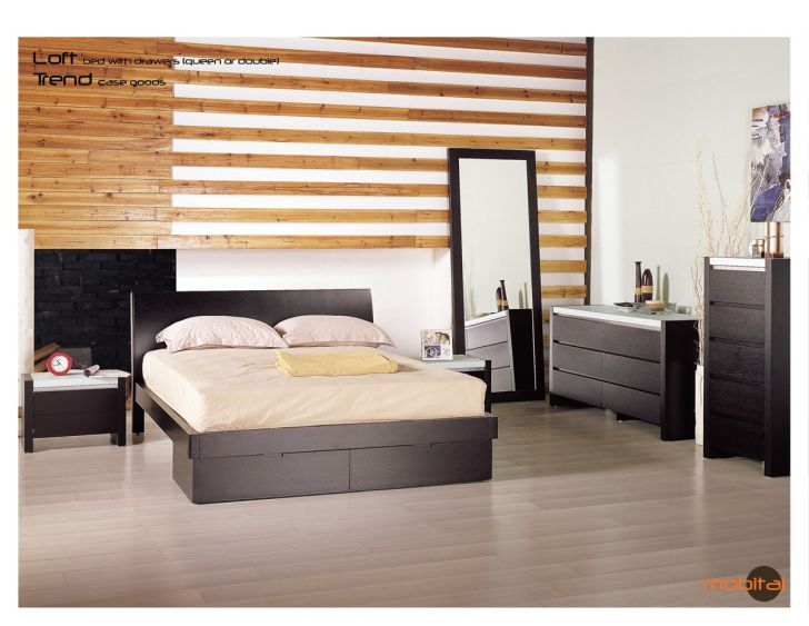North Shore Bedroom Set Panel