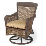 Replacement Cushions for Outdoor Furniture Dining Swivel Chair