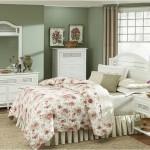 White Wicker Bedroom Furniture Sets