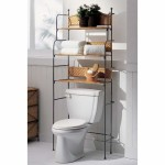 Wicker Bathroom Furniture Offer the Toilet