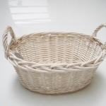 Wicker Bathroom Furniture Storage Basket