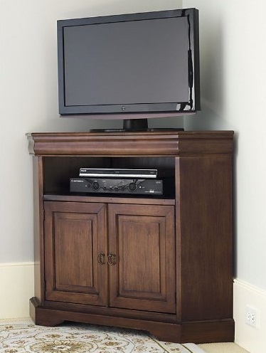 corner media units living room furniture corner media cabinets with doors great for your living 26755